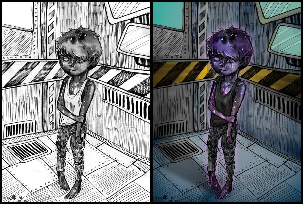 Lobotomy Corporation - Child Of Galaxy by AlbinaDiamond