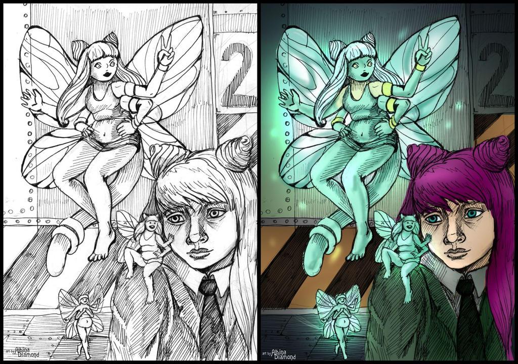 Lobotomy Corporation - Fairy Festival by AlbinaDiamond