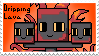Commission: Dripping Lava stamp by BabyWitherBoo