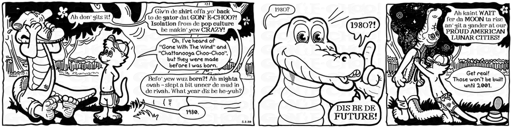 Gon' E-Choo! Strip 4 (www.gonechoo.com) by Gonechoo