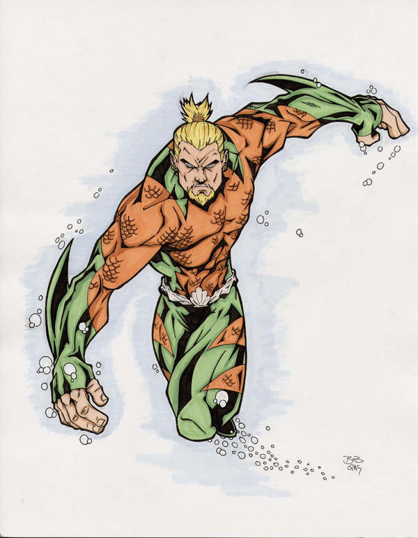 Aquaman by sketchheavy