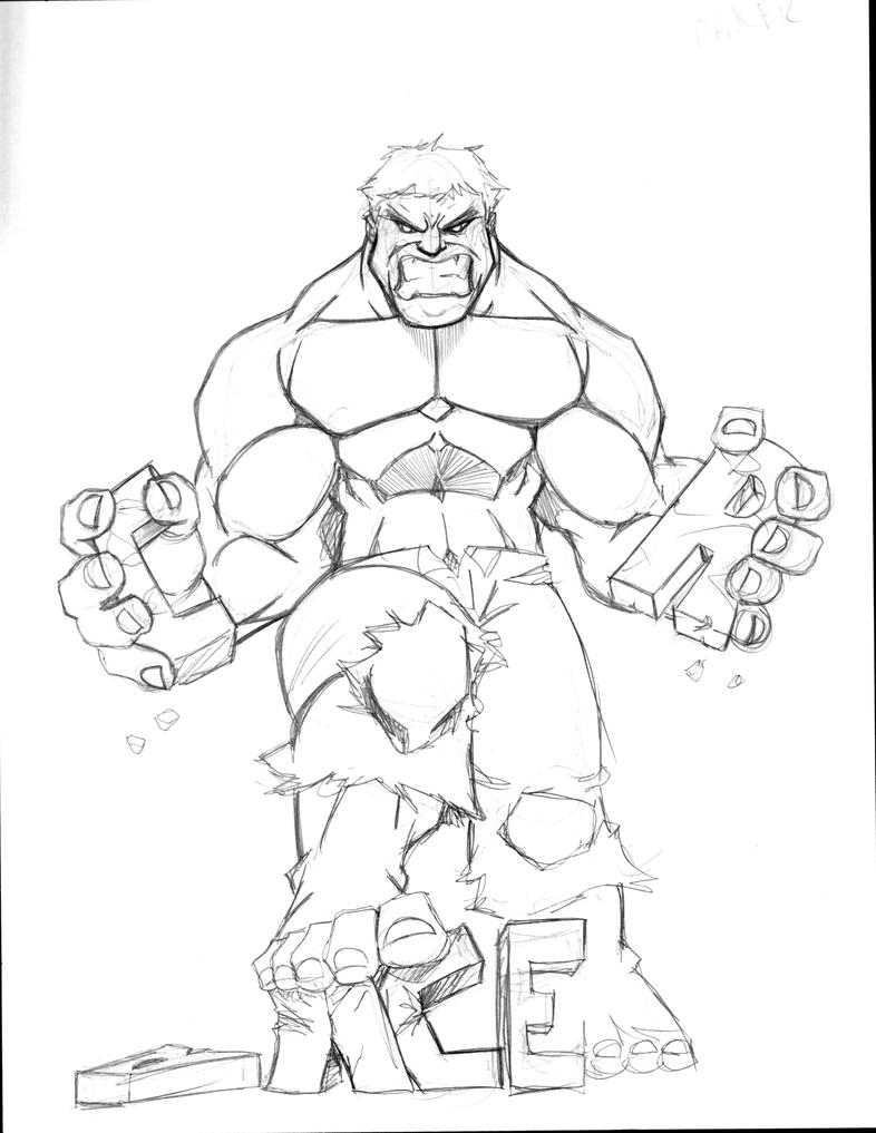 hulk vs cancer sketch by sketchheavy on deviantart