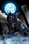 The Dark Knight colored