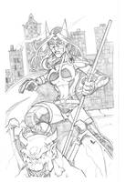 Huntress by sketchheavy