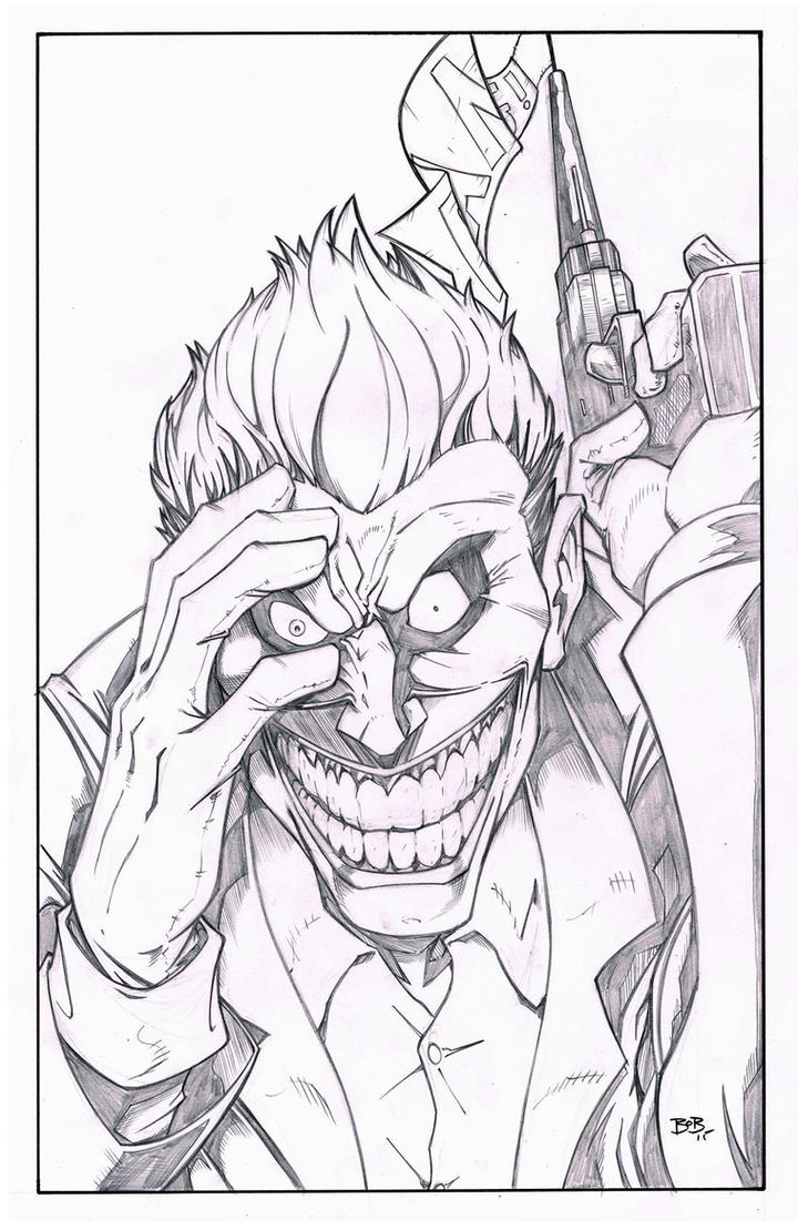 Joker pencils by sketchheavy