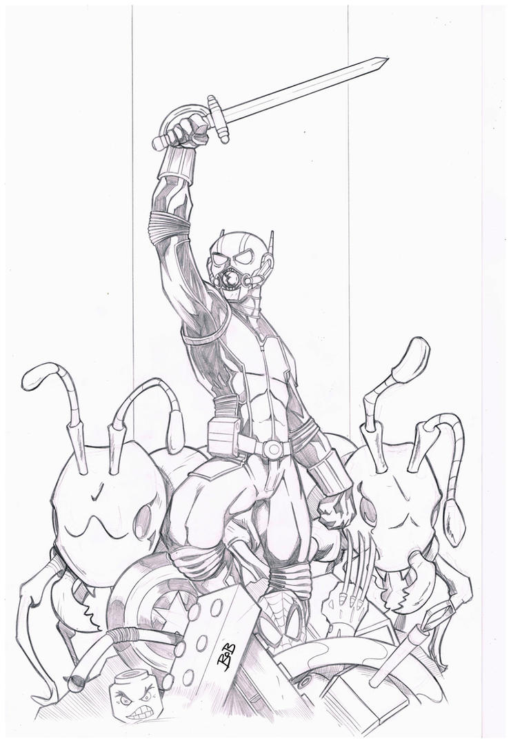 Antman Pencils by sketchheavy