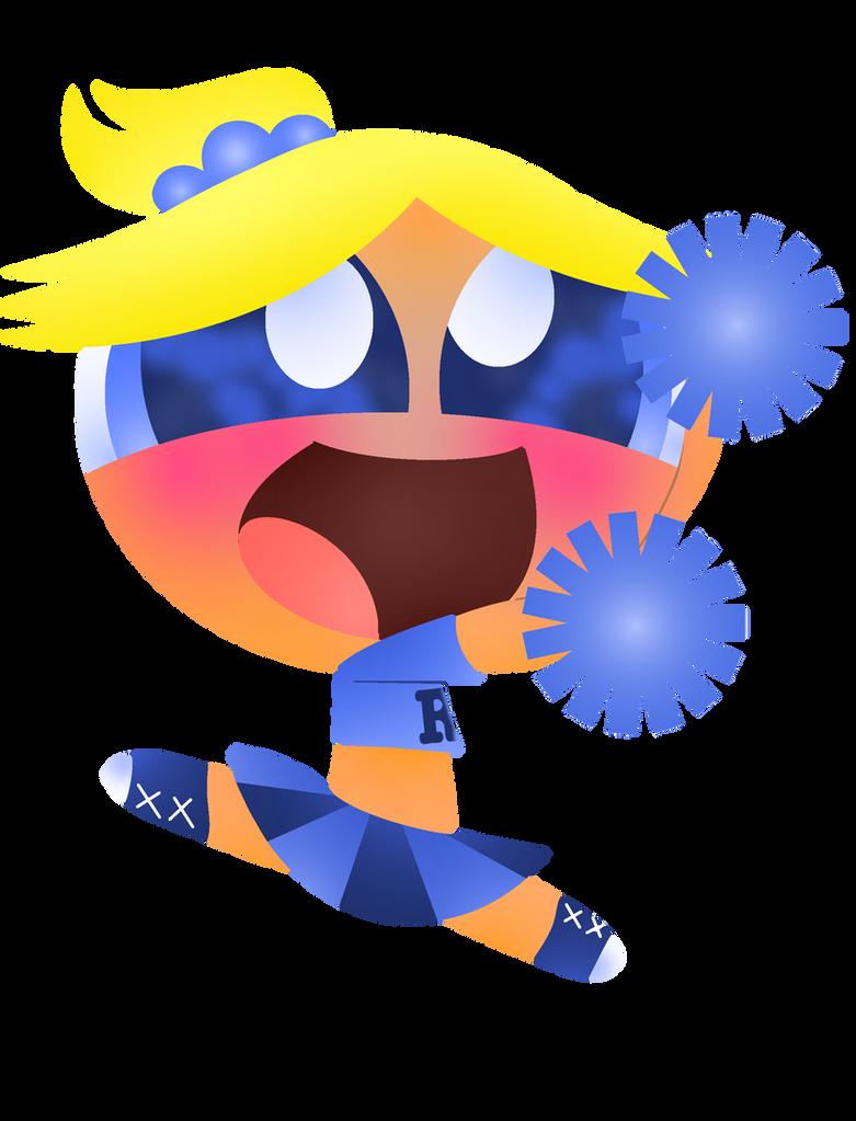 Boomer Cheerleader by XxSparklePuffxX