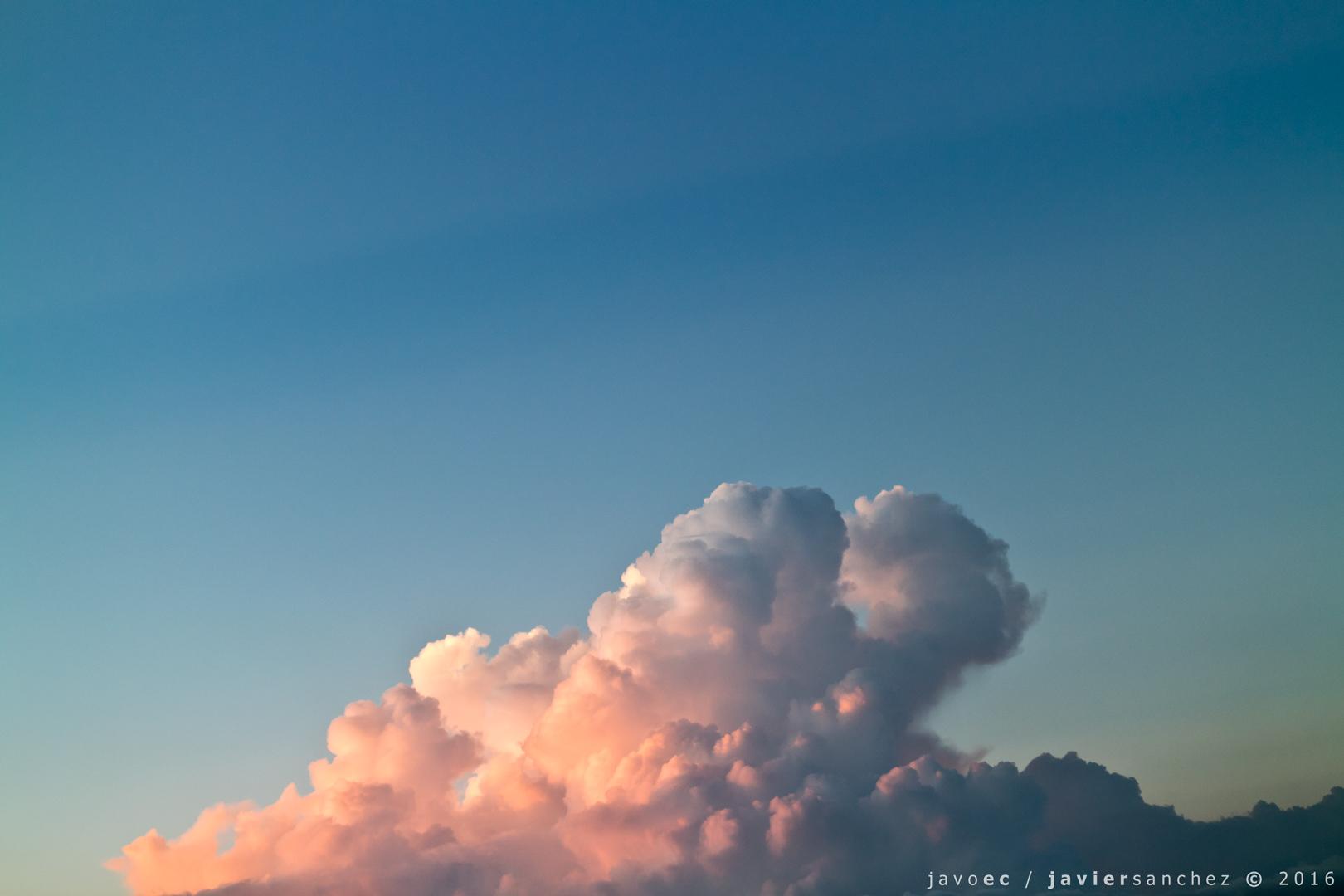 nube rosa by javoec
