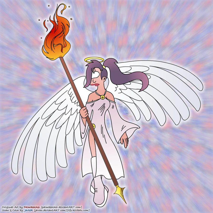 Angel Leela Colored by javoec
