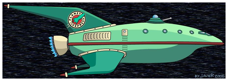 Planet Express Spaceship