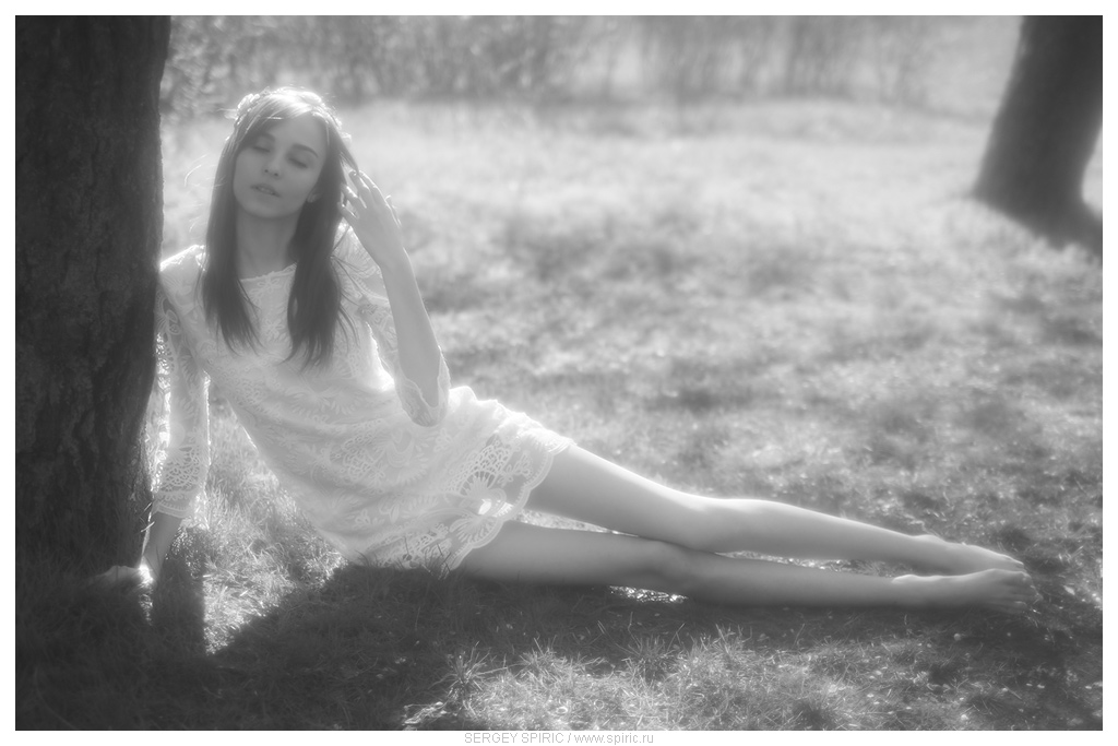 Anastasia B., A spring day by sergeyspiric