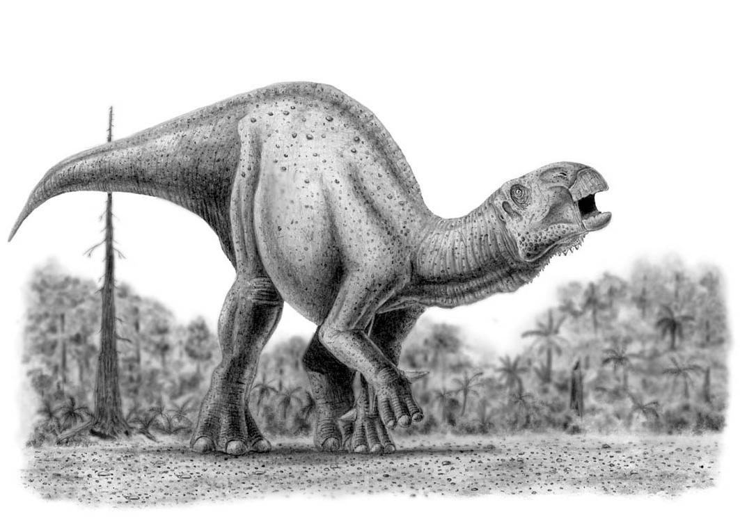 Iguanodon by camiloandres