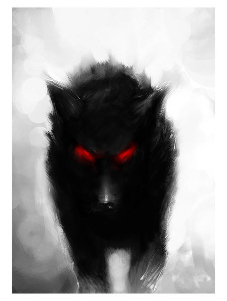 Evil Wolf Face GoodEvil can be both