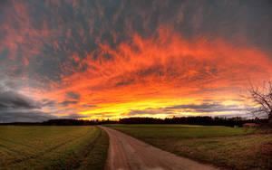 Burning Sunset Part I by myINQI