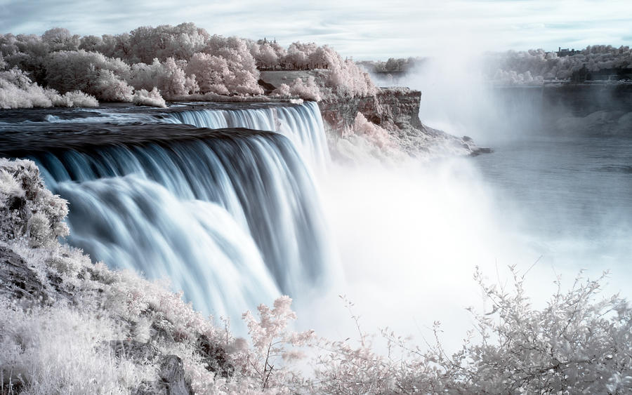 Niagara Falls 2560 Wallpaper