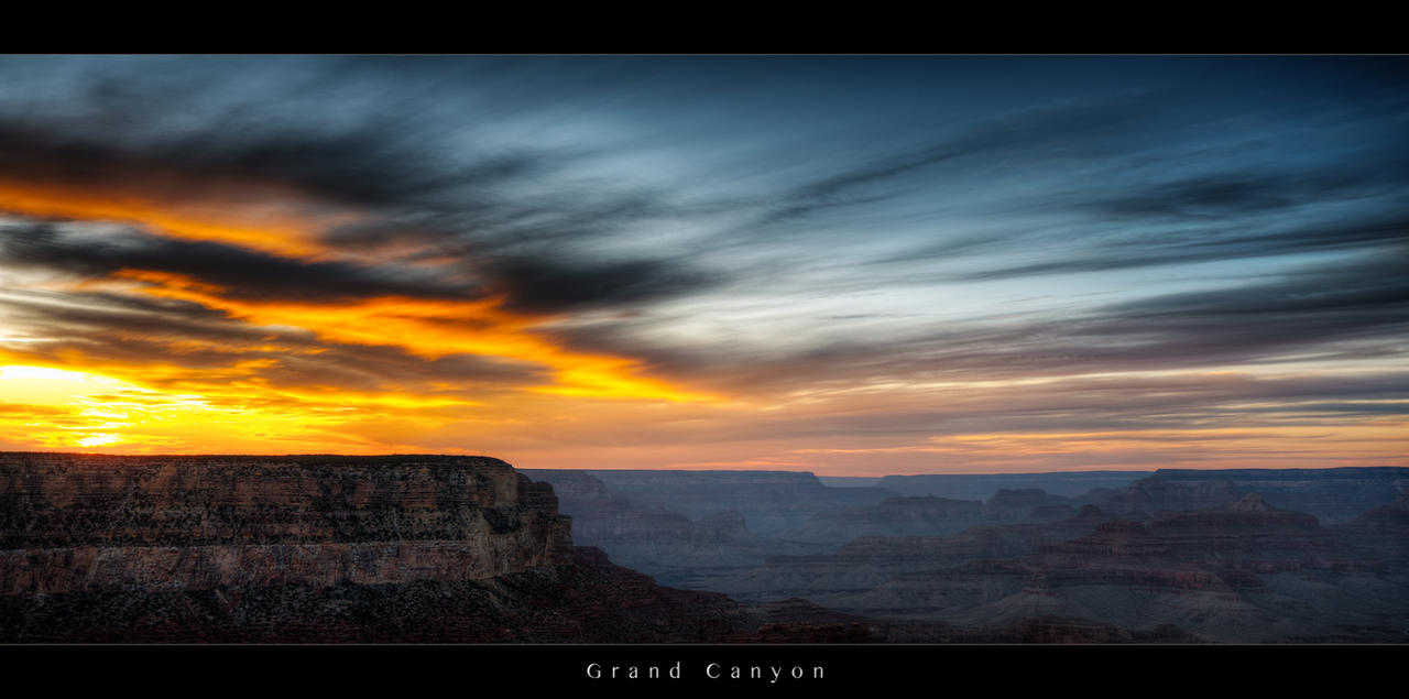 Grand Canyon cinematic by myINQI
