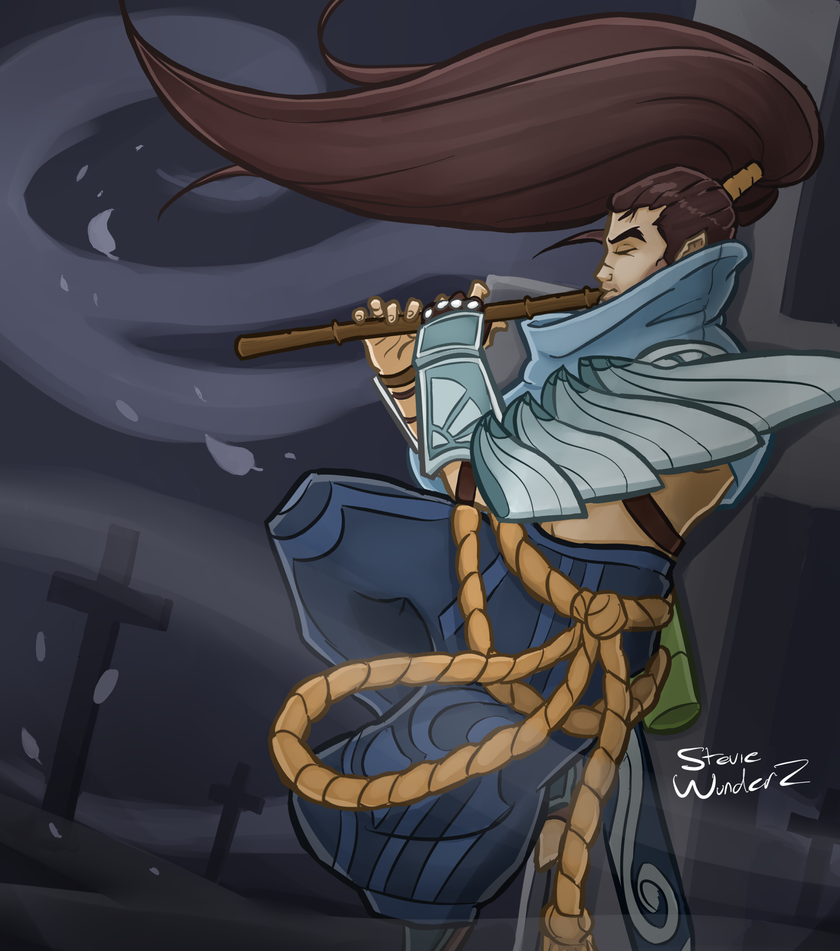 League Of Legends Yasuo By StevieWunderz