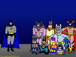 Batman Meets His Parody Counterparts by VoyagerHawk87