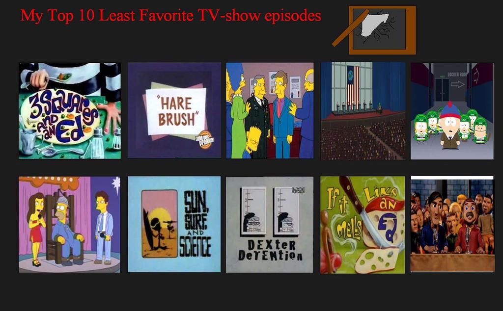 VoyagerHawk87's 10 Worst TV Show Episodes by VoyagerHawk87