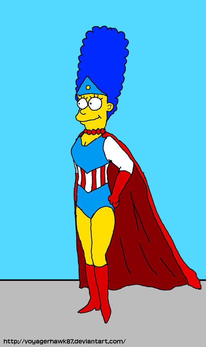 Super Marge Simpson (The Simpsons Arcade Game) by VoyagerHawk87