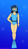 Britney (Totally Spies): Scuba Diving by VoyagerHawk87