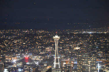 Space Needle (02/17/2019) by VoyagerHawk87