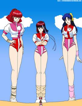GTS Noriko Takaya and her friends