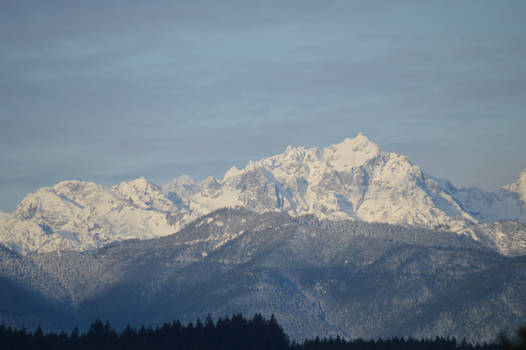 Olympic Mountains (1/17/20)