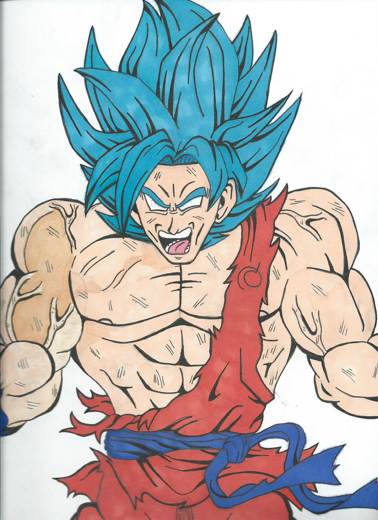 Ultra SSB Goku v2 by SuperSaiyanKev