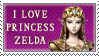 I love Zelda - Stamp by joiski