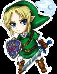 Chibi Link Ocarina of Time