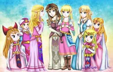 Hi Zelda by leziith