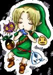 Chibi Link Majora's Mask