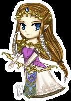 Chibi Zelda Twilight Princess by leziith