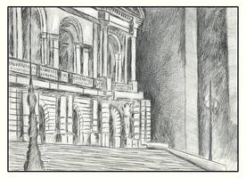 theater in graphite by tamino