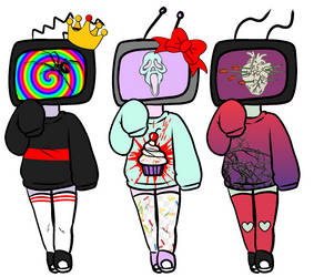 Song Based TV Head Adopts (2/3 OPEN) 10 points by KillrQu33n