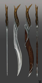 Elven Ranger Sword