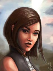 Motoko Shepard by dreamerofwords21