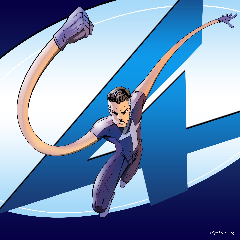 Fantastic Four: Mr. Fantastic by arunion on DeviantArt