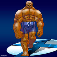 Fantastic Four: The Thing by arunion