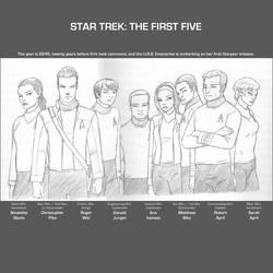 Star Trek : The First Five