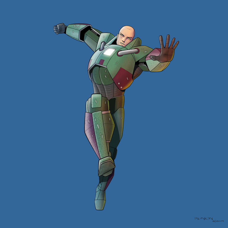 Lex Luthor Suit By Arunion On Deviantart