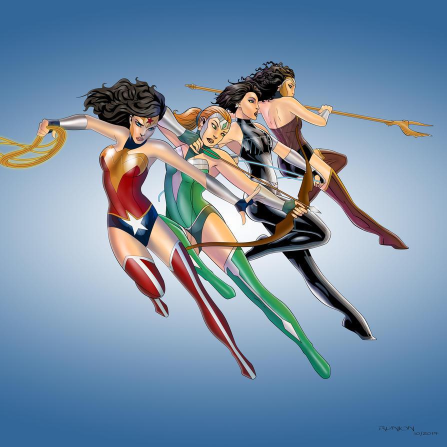 Wonder Women by arunion