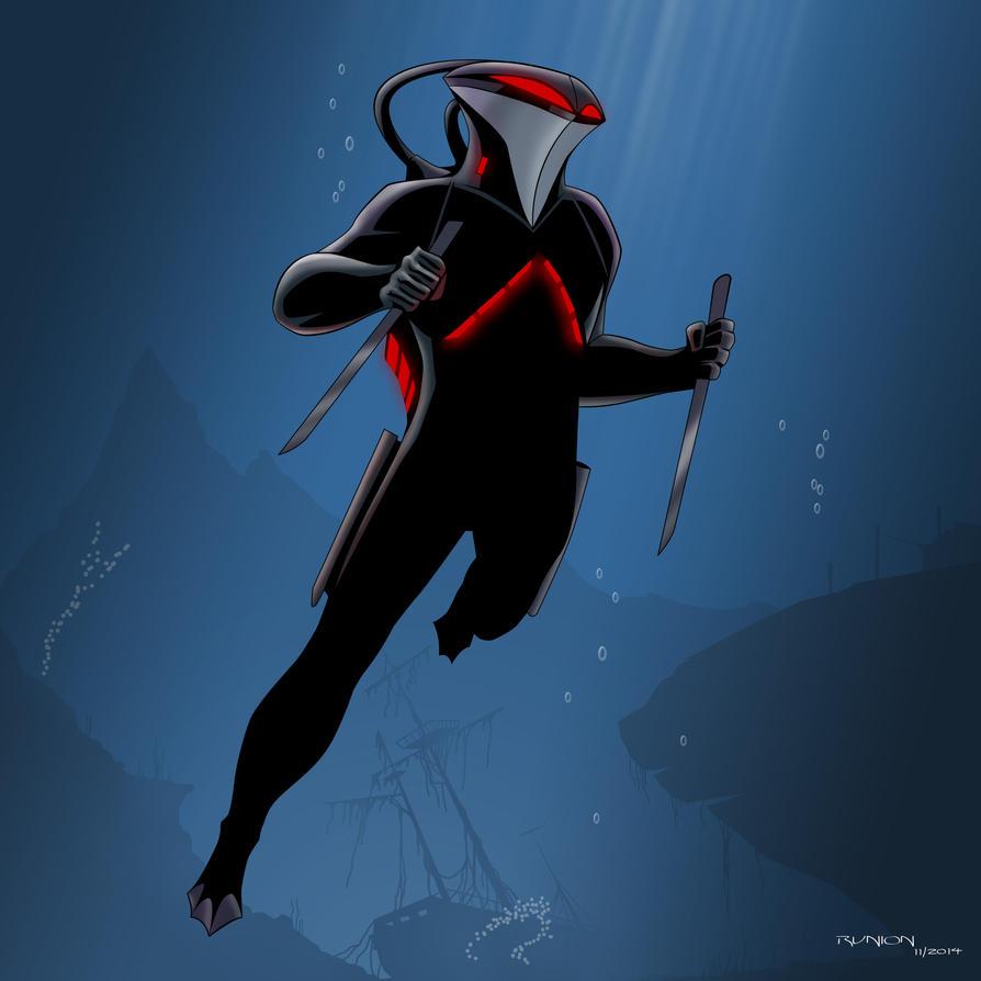 Black Manta by arunion