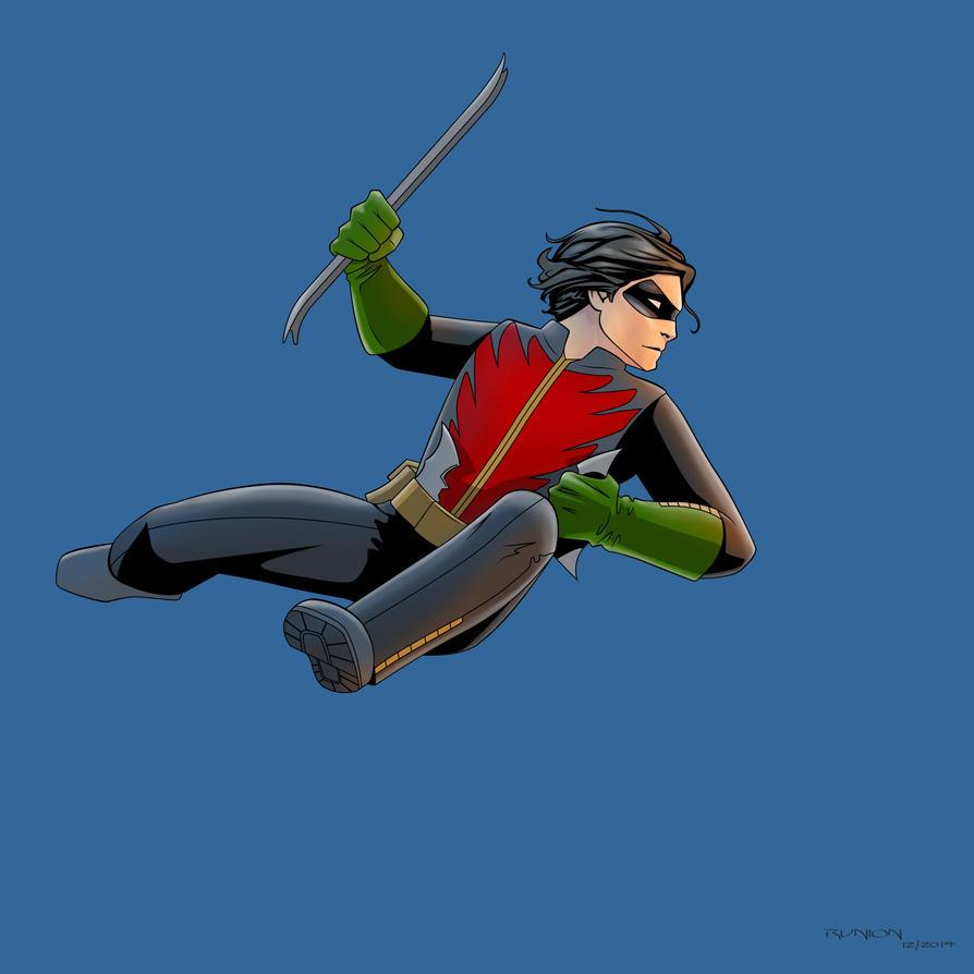 Robin (Jason Todd) by arunion