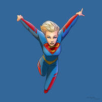 Supergirl by arunion