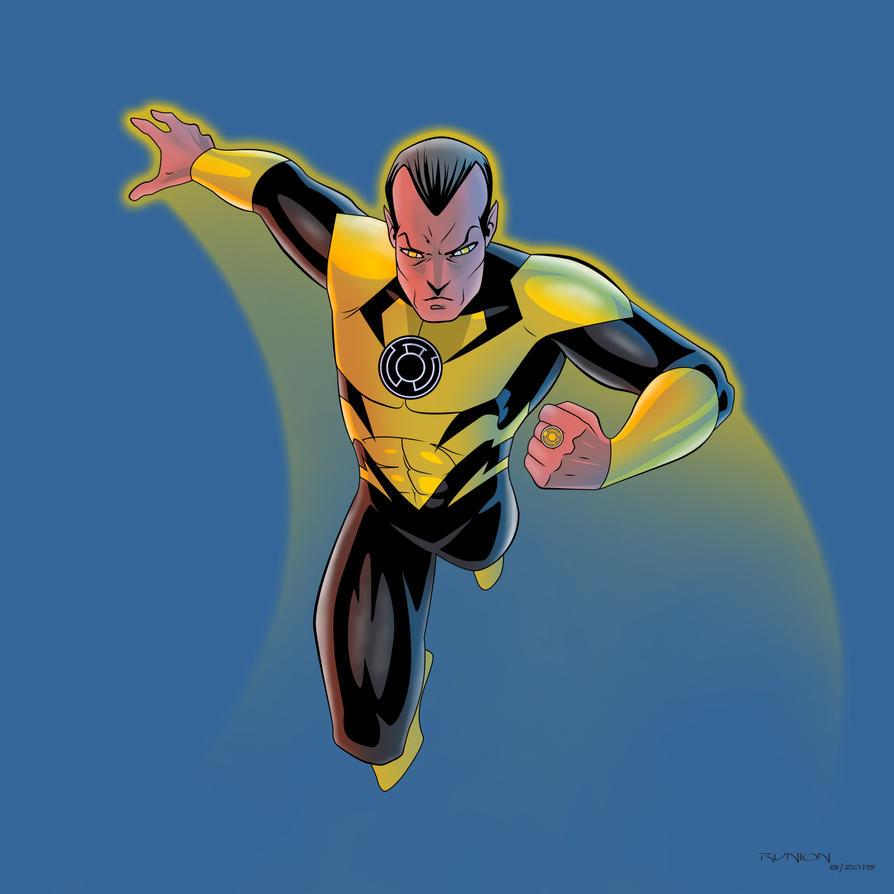 Sinestro by arunion