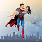 Superman And Lois by arunion