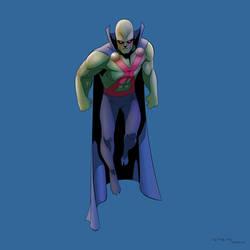 Martian Manhunter by arunion