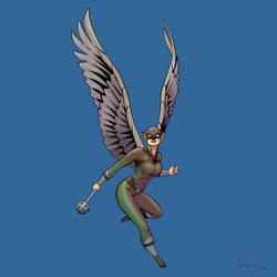Hawkwoman by arunion